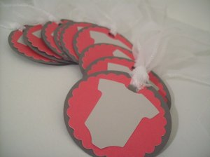 crafty chic bowtique baby shower gift tags