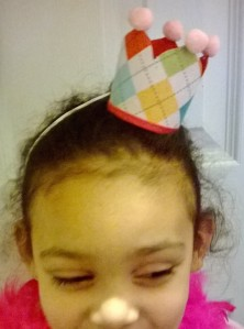 mini crown headband